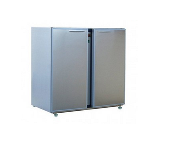 ARRIERE-BARS 2 MOYENNES PORTES   INOX CLASSIC