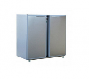 ARRIERE-BARS 2 LARGES PORTES | INOX CLASSIC